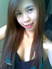 Collection of self shot Thai teen babes